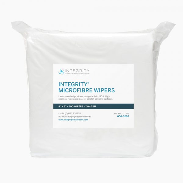 600-0250 INTEGRITY® Microfibre Dry Wipes