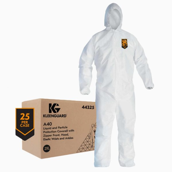 600-5069 KLEENGUARD™ A40 Liquid & Particle Protection Coveralls - with box