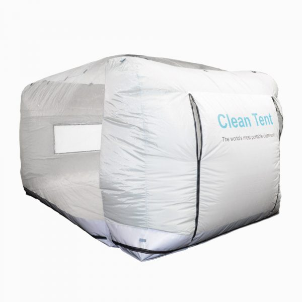INTEGRITY® Clean Tent - front