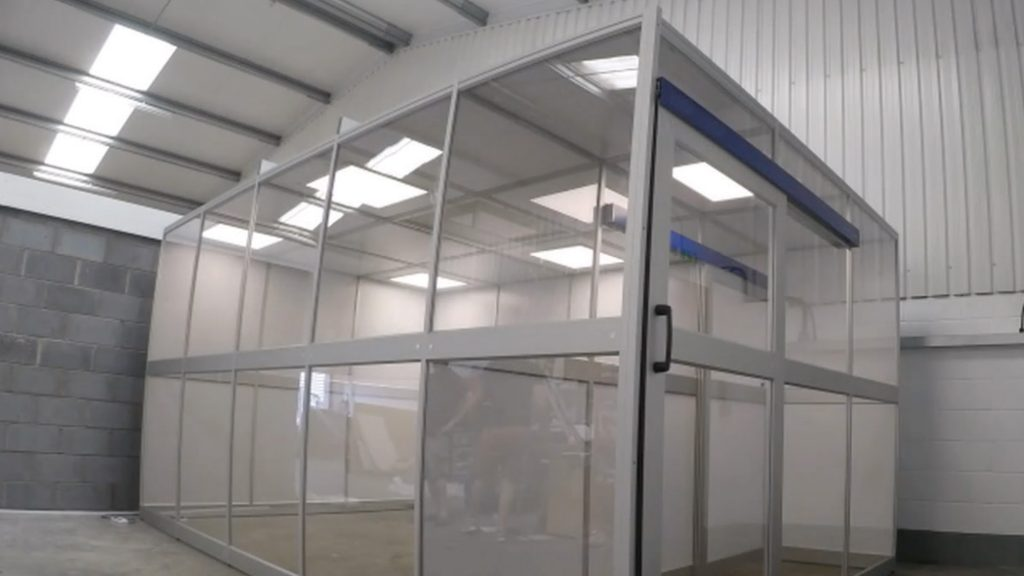 E-Liquid Modular IOS 7 Cleanroom