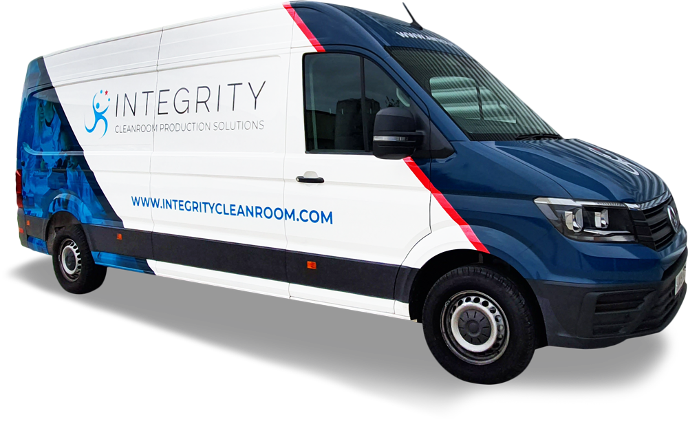 Integrity Cleanroom UK Delivery Van
