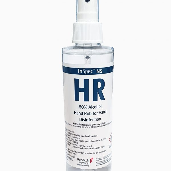 Photo of Inspec HR Hand Spray bottle