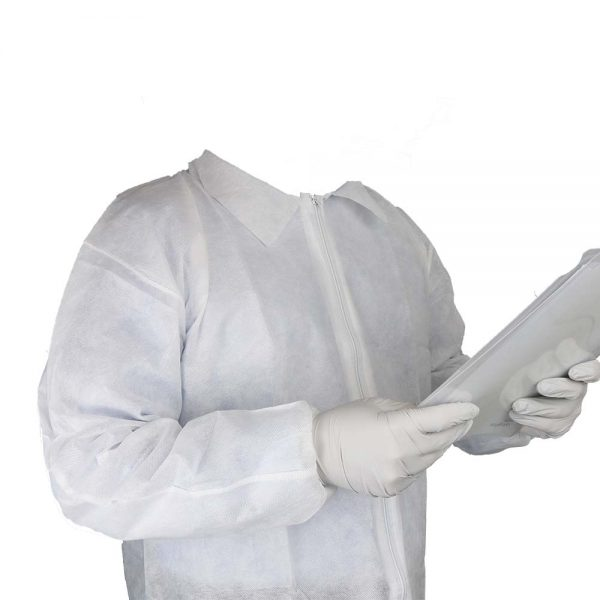 603-5000 Visitor Lab Coat - Details - Small